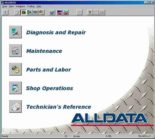 Alldata 8.4 2005 Chrysler