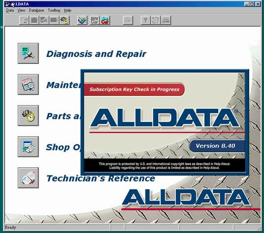 AllData 8.4 2005 программа